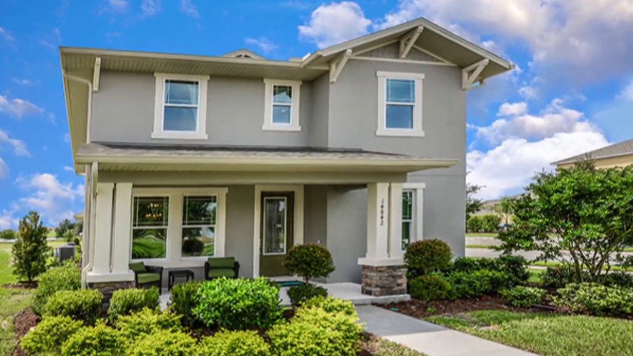 summerlake monroe model new homes in winter garden fl calatlantic homes - Winter Garden Fl Homes