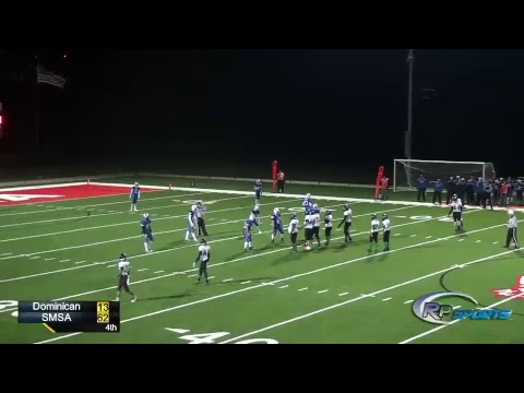 SMSA VS Dominican High School Football 10/19/2018