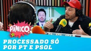 """""""Hoje eu sou processado politicamente só por PT e PSOL"""", diz Danilo Gentili"""