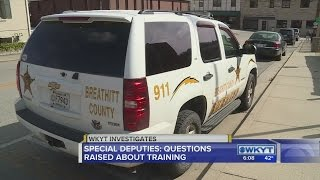Special Deputies: Questions raises about training