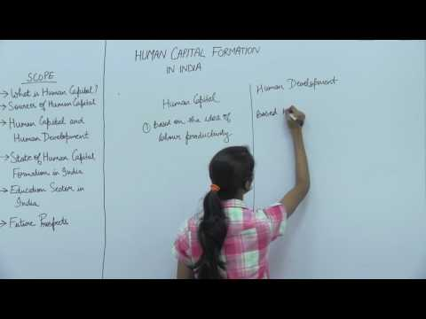 Human Capital Formation in India _ Part3 _ Human Capital & Human Development _ Kavya Singhal