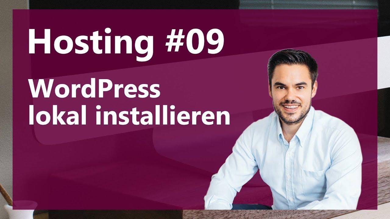 WordPress auf Mac oder Windows offline installieren 2017 / Hosting #09
