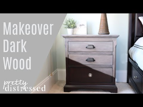 Nightstand Makeover | Furniture Stripping and Refinishing