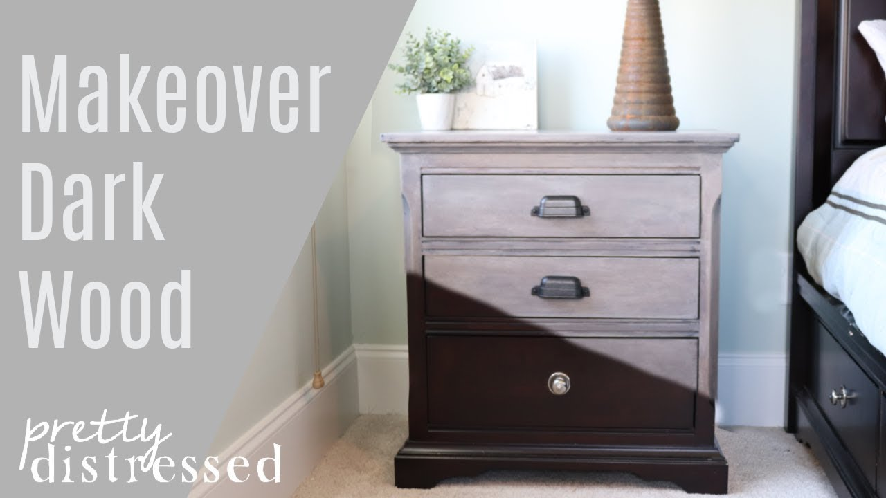 Nightstand Makeover  Furniture Stripping and Refinishing