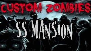 Custom Zombies| Beating SS Mansion w/ESSOfps, baseball4ev and JoshybFPS part 2 (Final)