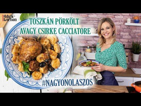 Toszkán Pörkölt Avagy Csirke Cacciatore