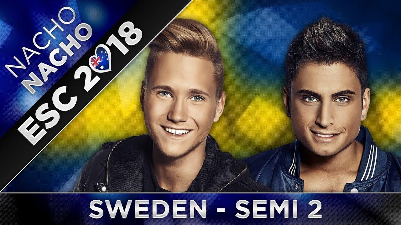 Melodifestivalen Deltävling 2: DELTÄVLING 2 MELODIFESTIVALEN 2018 (ESC Sweden
