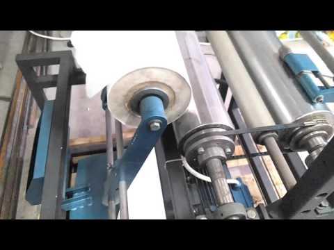 видео: Станок Перемотки стрейч-пленки, фольги, пергамента и др. рулонных материалов сп-500