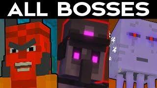 Minecraft Storymode Season 2 Episode 3 - ALL BOSSES / FINAL BOSS