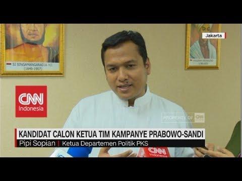 Kandidat Calon Ketua Tim Kampanye Pasangan Jokowi-Ma'ruf & Prabowo-Sandi Mp3