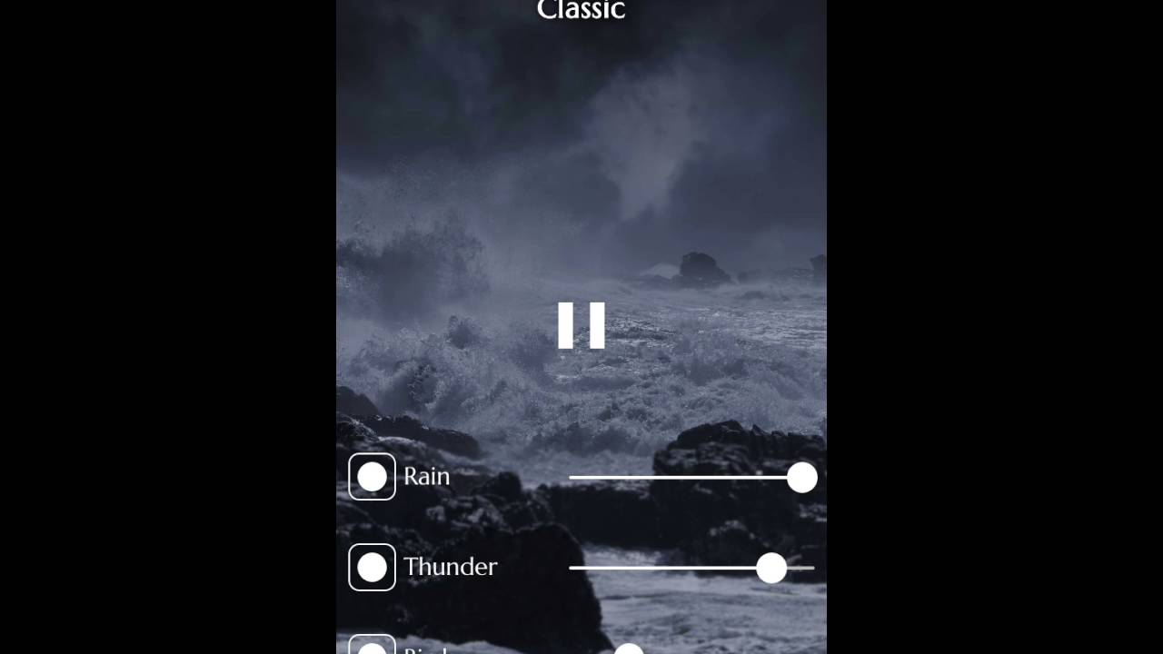 Rainy Mood 2.0 App Demo
