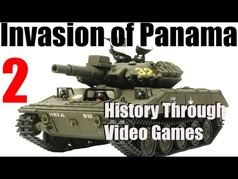 Invasion of Panama with Wargame Red Dragon - Sheridan Tank and AH 64 Apache