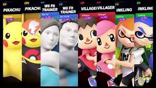 Super Smash Bros Ultimate Amiibo Fights Request #1480 Counterpart Team Smash