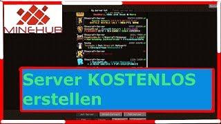 Minecraft Spielen Deutsch Eigenen Minecraft Server Erstellen - Eigenen minecraft server erstellen kostenlos mit hamachi