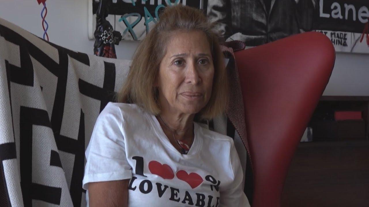 Lina (60) is het icoon van de Libanese protesten: 'We zullen vrijheid krijgen'