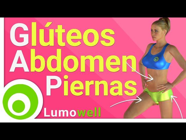 Ejercicios para adelgazar barriga piernas y gluteos