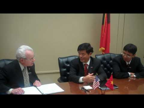 Texas Tech University Signs Cooperation Agreement with Vietnamese University