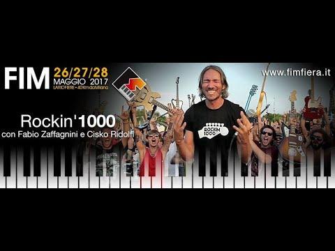 CASA FIM 2017. FABIO ZAFFAGNINI E CISKO RIDOLFI - ROCKIN'1000 (Live Streaming)