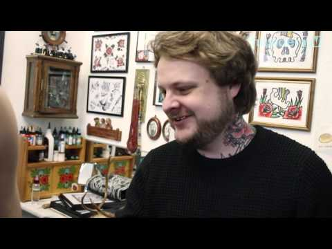 Petrie's Art X Super Helsinki X Finsider TV - tattooing from Helsinki