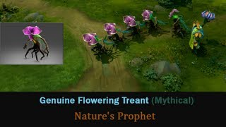 Genuine Flowering Treant - Furion 3 skill | DOTA 2