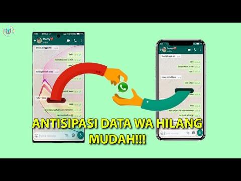 Cara Memindah Data Whtasapp Lama ke WA Baru Tanpa Kehilangan Chat, Group, Kontak dan Story Simak vid.