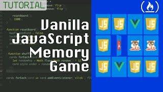Memory Card Game - JavaScript Tutorial