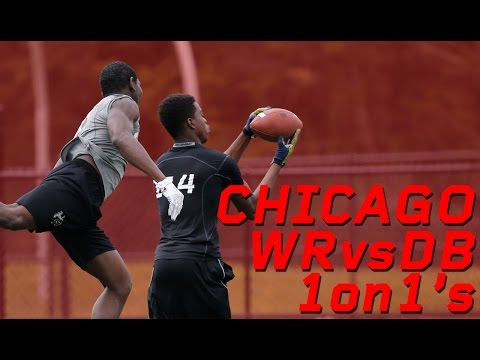 Chicago WR vs DB 1 on 1