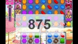 Candy Crush Saga level 875 ....