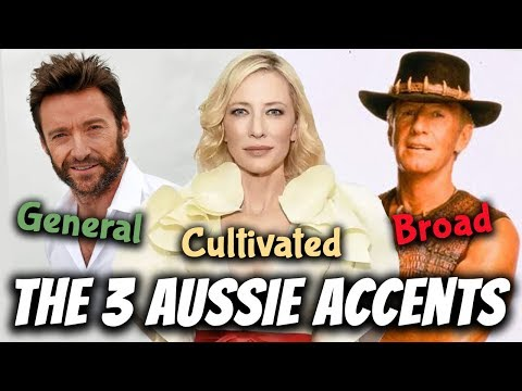 The 3 Australian Accents: General, Cultivated & Broad   Australian Pronunciation