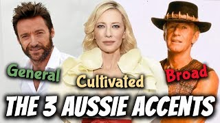 The 3 Australian Accents: General, Cultivated & Broad | Australian Pronunciation