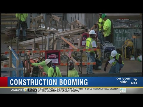 Construction booming in Tampa