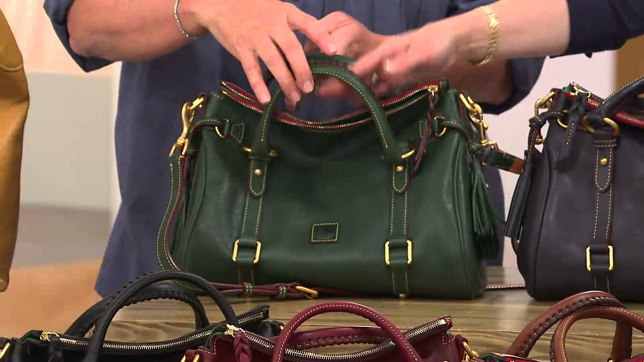 Dooney Bourke Florentine Vachetta Leather Small Satchel With Mary Beth Roe You