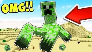 THE MUTANT CREATURES MINECRAFT MOD!!