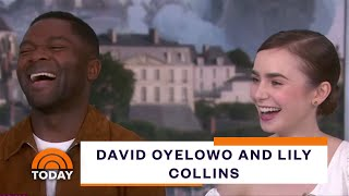Les Miserables Stars David Oyelowo And Lily Collins Talk New Series  TODAY