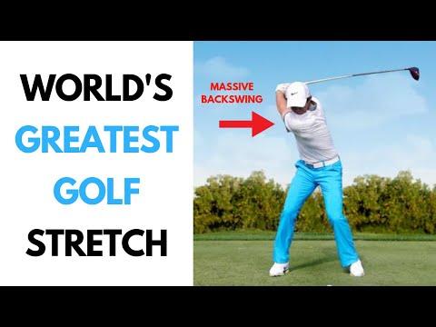 World's Greatest GOLF Stretch | BIG BACKSWING | JOETHERAPY