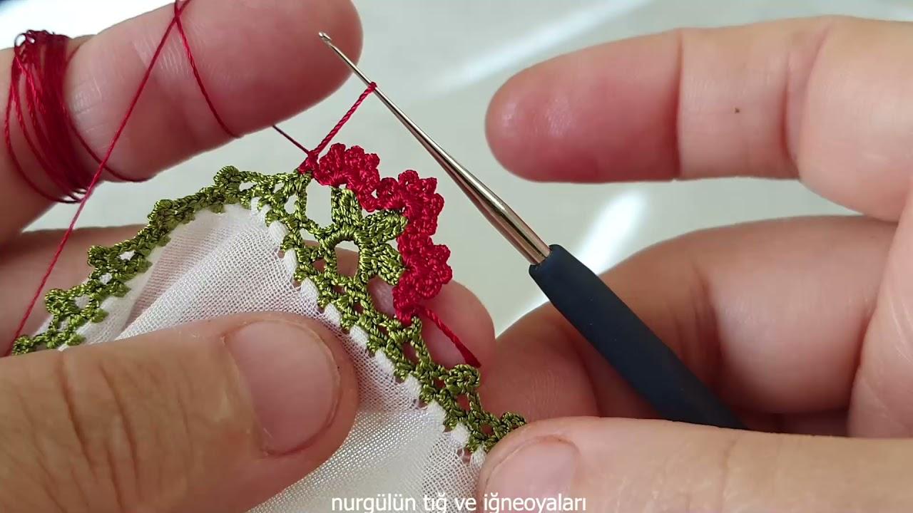 #crochet#puntillas #kinitting #tığoyası #957 iğneden tığa zarif bir model
