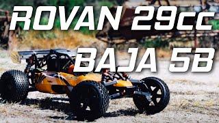 Rovan 1 5 29cc Rc Baja 5b Petrol Powered Rc Buggy 290a Youtube