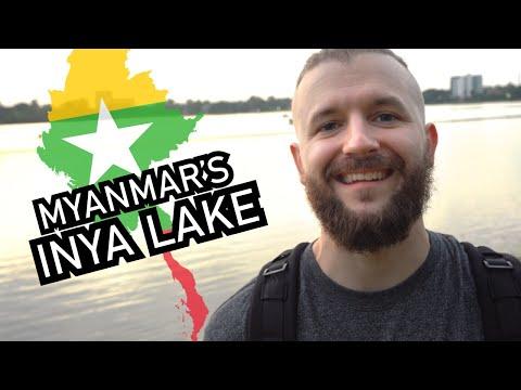 LOVER's LAKE in YANGON, MYANMAR?! 😍