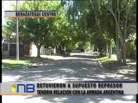 Detuvieron en Berazategui a supuesto represor