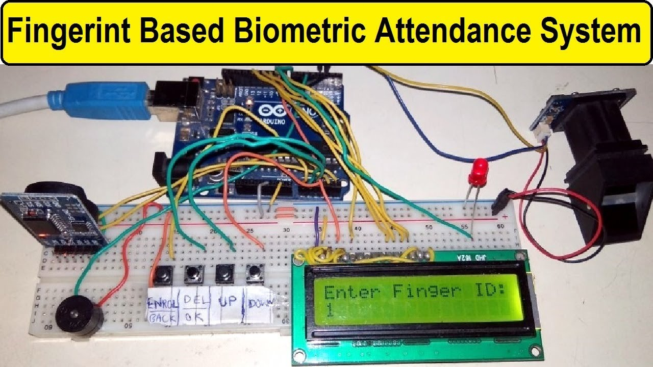Fingerprint Sensor Based Biometric Attendance System using