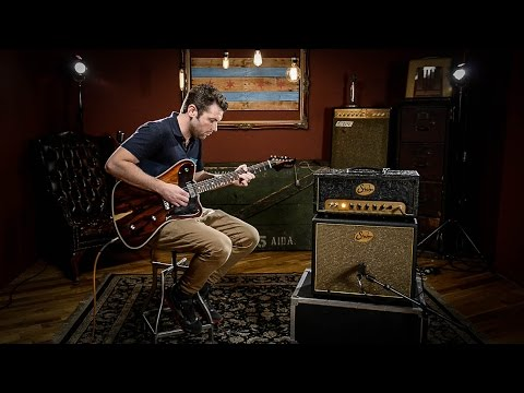 Echopark Korina Ghetto Bird Case Study Sunburst | Guitar Demo