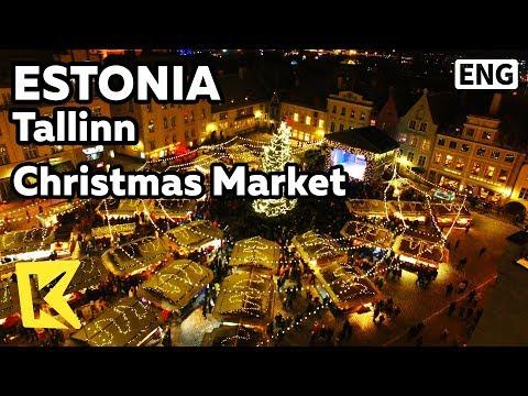 【K】Estonia Travel-Tallinn[에스토니아 여행-탈린]크리스마스 마켓/Old town/Beyond beyond/Christmas Market/Square/Santa
