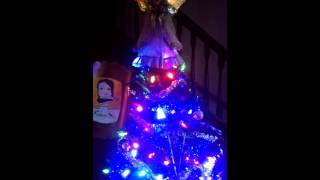 Fiber Optic Angel Silent Night