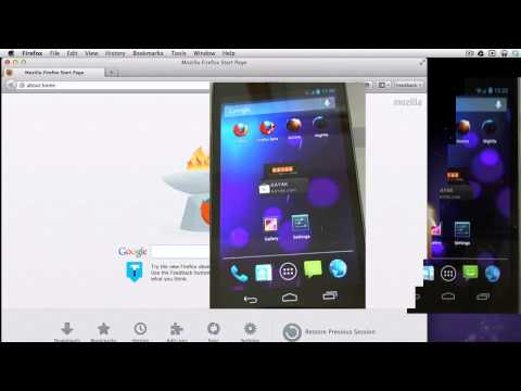 Firefox Android Remote Debugging Demo