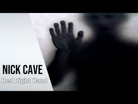 NICK CAVE & BAD SEEDS - Red Right Hand | lyrics | Peaky Blinders Theme Tune |