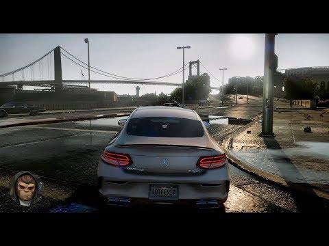 ► GTA 6 Photorealistic Graphics 🔥 BEST Mercedes AMG MODs Gameplay ✪ NVR  PC 60FPS GTA V MOD