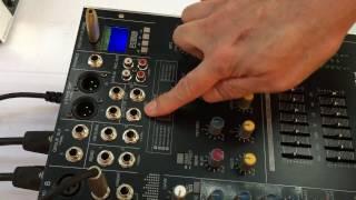Sound Best วิธีใช้งานและปรับปุ่มต่างๆของเพาเวอร์มิกเซอร์รุ่น SMX-800D