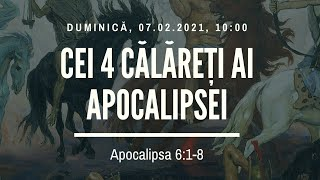 Sfanta Treime Braila - 07 Februarie 2021 - Iosua Faur - Apocalipsa 6:1-8