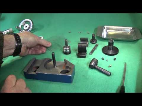 Easy To Make Apron Gear Cover For Chinese Mini Lathe & Assembly Strip Down PART ONE