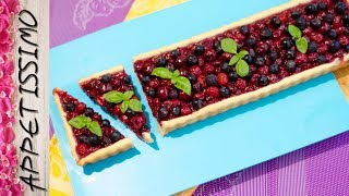 Открытый пирог с ягодами (тарт) / Berry Pie (Tart)